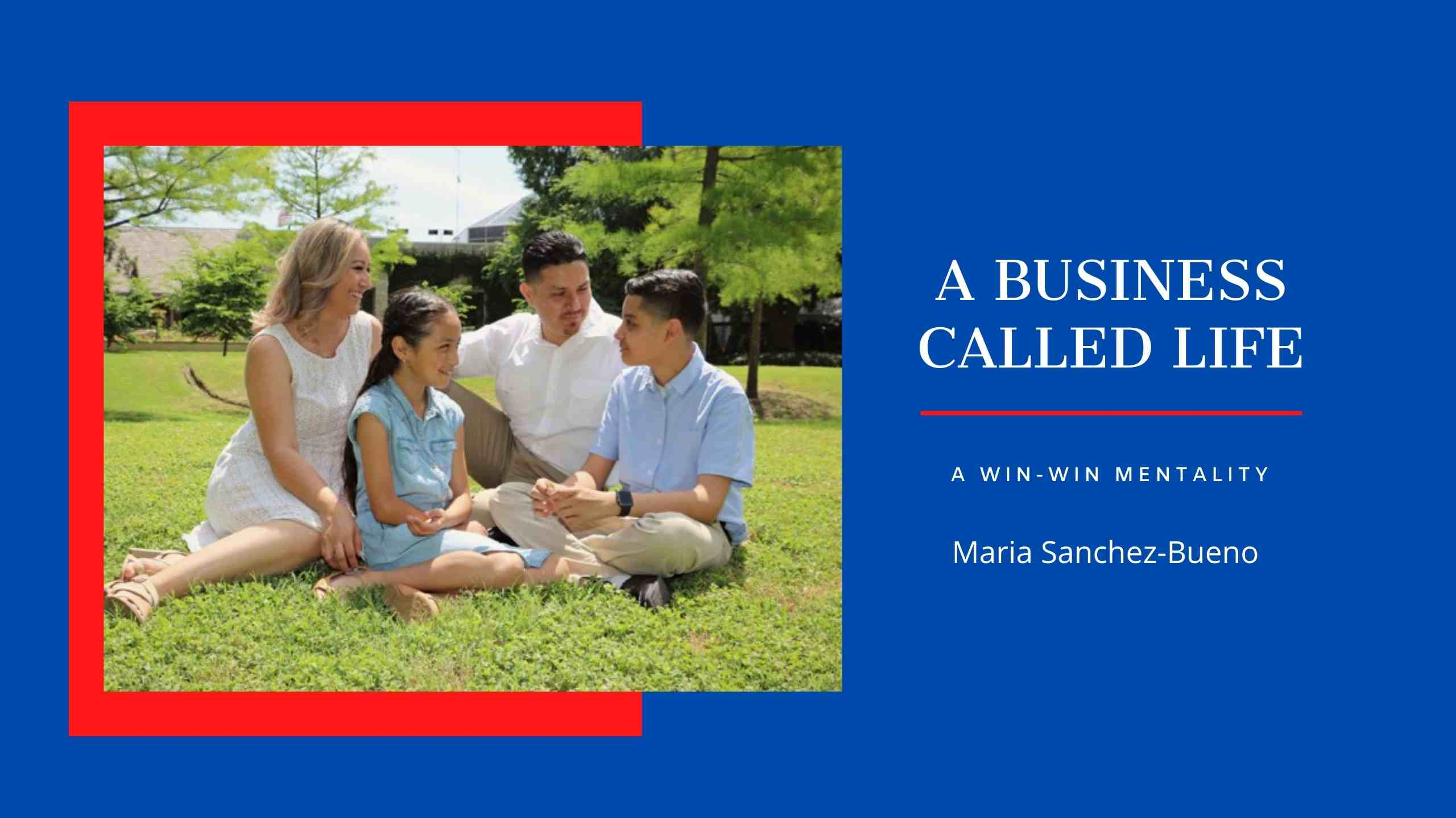 A BUSINESS CALLED LIFE